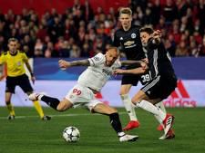 United houdt dankzij De Gea in topvorm de nul bij Sevilla