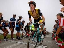 Steven Kruijswijk krijgt optater in zware Vuelta-rit