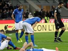 Slordig Italië ontbreekt voor het eerst sinds 1958 op WK
