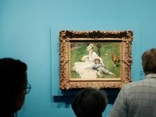 Klein schilderij van Renoir gestolen uit veilinghuis