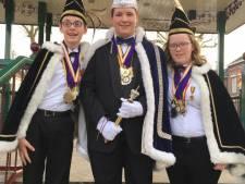 Kerkdriel presenteert jeugdprins, vorst en adjudant