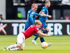 AZ en Feyenoord schieten weinig op met gelijkspel