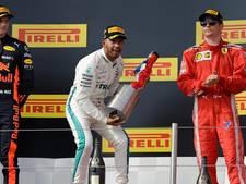 Weer een podiumplaats voor Verstappen: tweede in Frankrijk