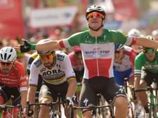 Viviani oppermachtig in laatste sprint Vuelta, Yates eindwinnaar